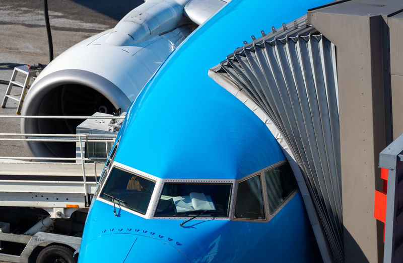 Luxury Aerospace Industry Built Structure Close-up Engine Stationary Outdoors Motor Vehicle Public Transportation Car Metal No People Day Land Vehicle Air Vehicle Blue Transportation Mode Of Transportation Ground Logistic Service Boarding Ramp Airplane Plane Aeroplane Business Finance And Industry Business Traveling Travel Airport