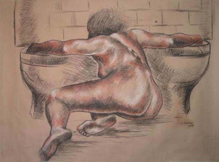 Art Culture And Entertainment Nüde Art. Sketch