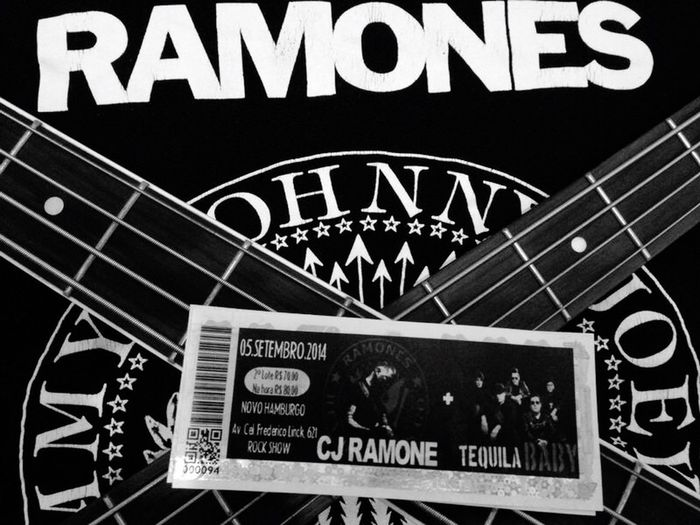 Ramones C. J. Ramone Punk Rock Hey Ho... Let's Go...! Punk