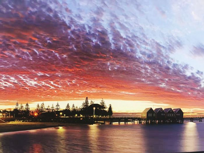 Bussellton, western Australia. Amazing sky.