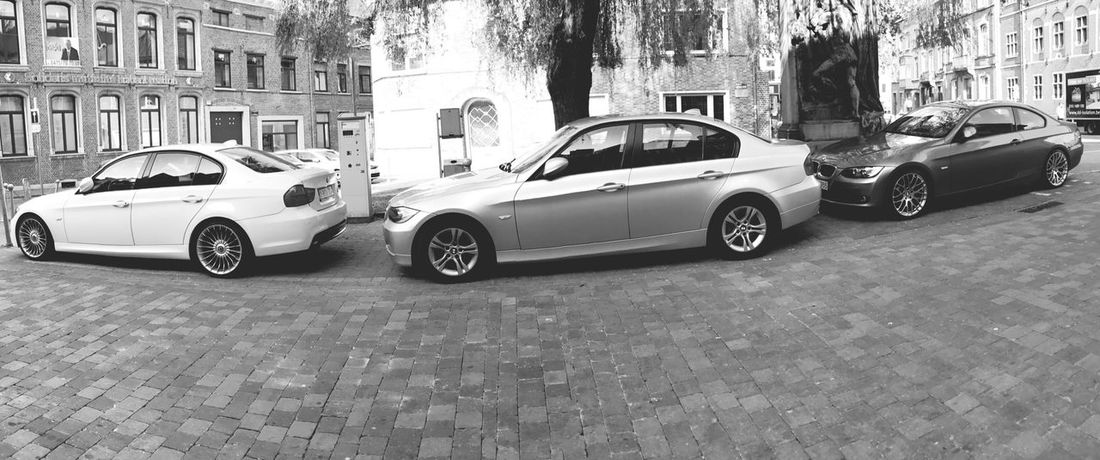 Pack m - original - coupé Bmw Serie3 Friends Street Black White Black And White