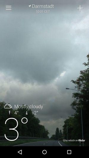 Wetter :-( Darmstadt Hello World