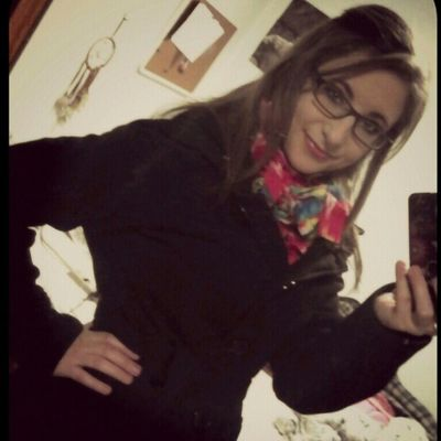 New jacket and new handmade scarf from my sister <3 Birthdaygifts
