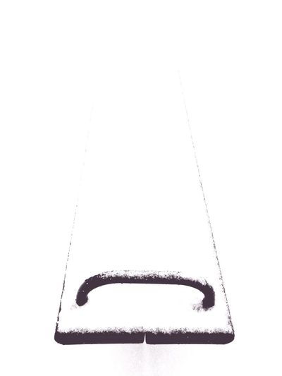 Close-up of object over white background