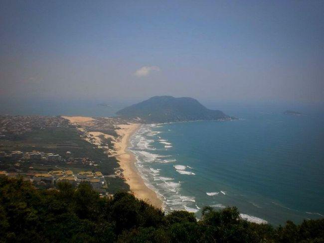 Taking Photos Pico Das Aranhas Florianópolis Nature Photography Skyline Escalate Mountain View Beach And Montain
