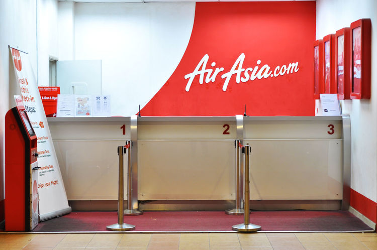 air asia ticket counter Aeroplane Air Asia Airplane Booking Booth Buy Cabinet Counter Flight Indoors  Neat Office Queue Red Ticket Ticket Counter TicketBooth