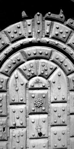 Backgrounds Full Frame Close-up Door Knocker Closed Doorknob Door