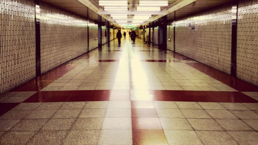 Underground Underpass Train Station Subway Station Station Brown Canon 70d 花鳥風月 Beautée