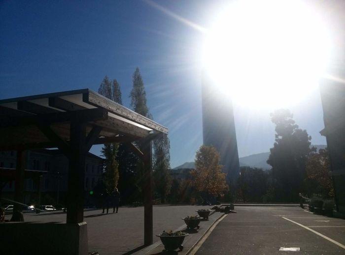 Bilbao Sunny Day University Of Deusto The City Light