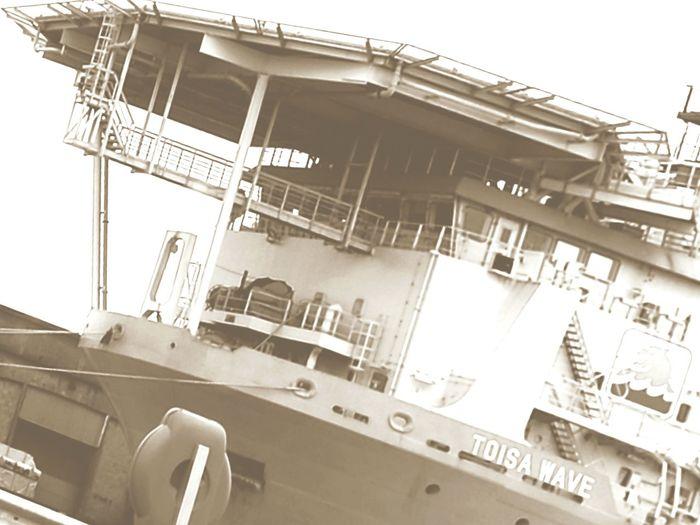 Albert Dock Albert Docks Hull Dock Kingston Upon Hull Industrial Photography Industry Industrial Landscapes Industrial Helicopter Pad Boat Docked Dockside View Docklands Dockside Ship Toisa Toisa Wave Transportation Fresh On Eyeem  No People Outdoors Humberside