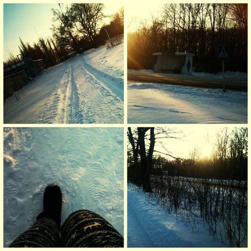Зима. Деревня.?✌?