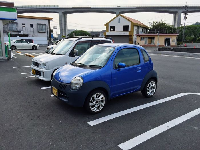 Small fry Japan Cars