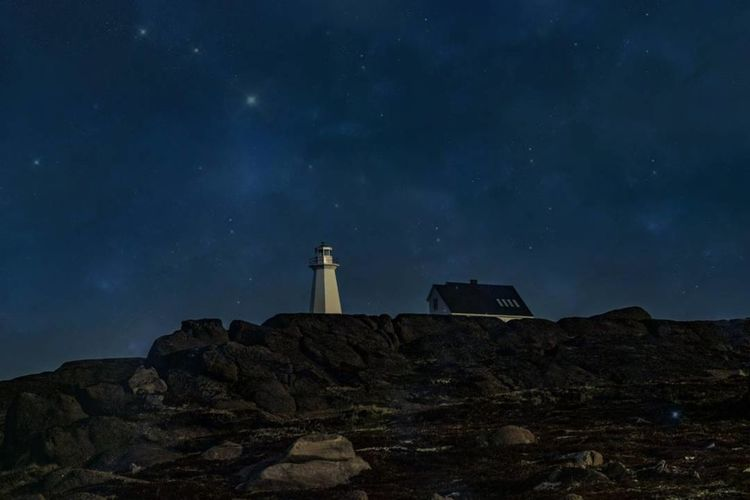 Star - Space Lighthouse Night Travel Destinations Building Exterior Long Exposure Architecture Sky Astronomy No People Outdoors