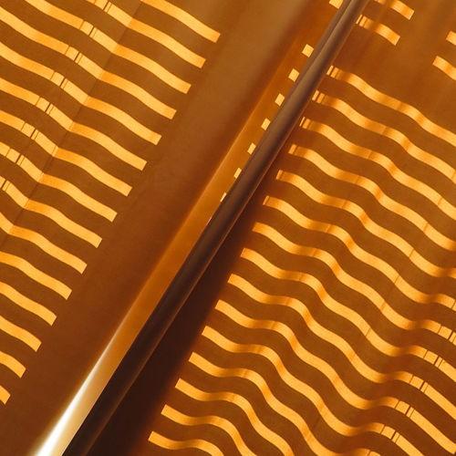 Architecture Backgrounds Close-up Curtain Day Detail Full Frame High Angle View Indoors  Light Light And Shadow Morning Morning Light No People Pattern Striped Stripes Stripes Pattern Sunlight Sunlight Yellow