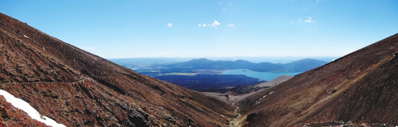 Tongariro NP EyeEm Selects Landscape Mountain Scenics Travel Destinations Rural Scene Outdoors Nature Mountain Range Sky Beauty In Nature No People Beauty Day Go Higher