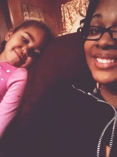me and my lil cousin !