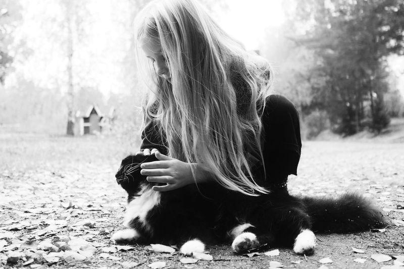 Cuddling...