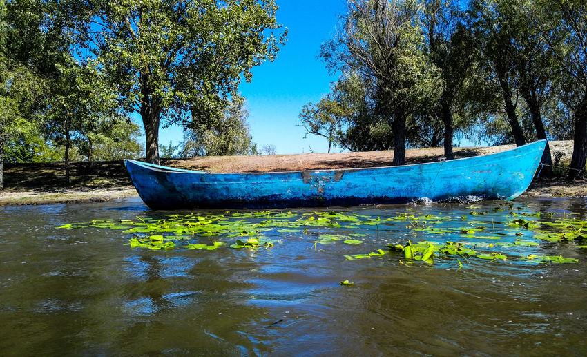 Old Boat Blue