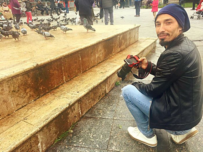 Kaderimi ben çizmedim , 'RABBİM' ikram etti 'ELHAMDULİLLAH' Photography Bird Only Men People Day Sitting Real People Men City Technology Portrait One Man Only Skateboard Park One Person