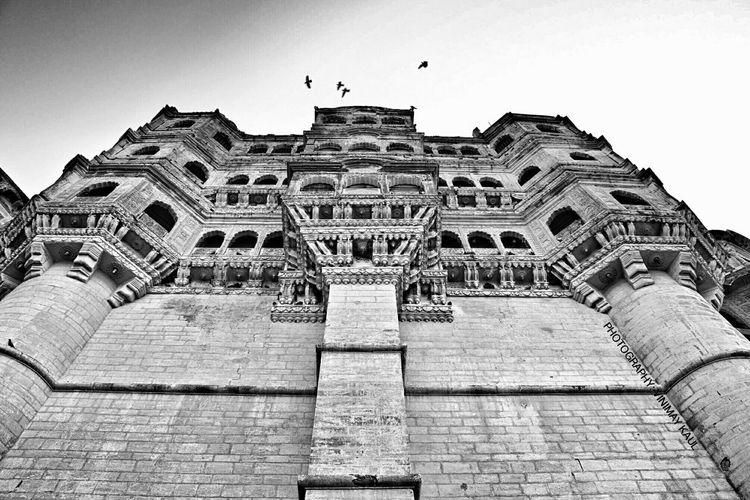 Inside the Mehrangarhfort Jodhpur Rajasthan Incredible India EyeEm Best Shots EyeEm Best Shots - Architecture Blackandwhite Photography Awesome Architecture EyeEm Best Shots - Black + White Amazing Architecture
