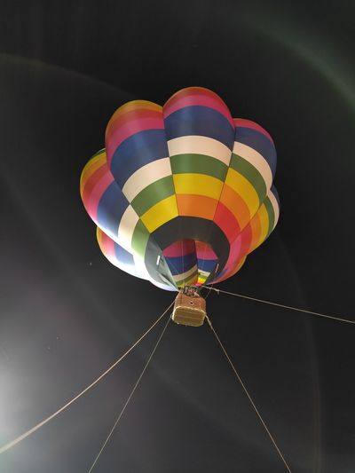 Hot Air Balloon Multi Colored Ballooning Festival Flying Adventure Close-up