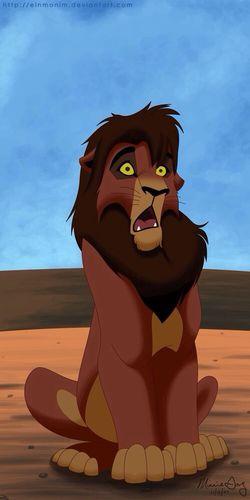 Kovu is like the hell?! LMFAO!