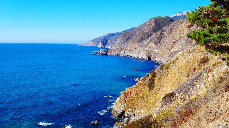 Landscapes With WhiteWall Big Sur CALIFORNIA EyeEm Team Sea Seascape