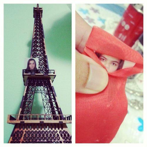 EpisódioDeHoje -- Arianne visita a Torre Eiffel em Paris e a ciidade de Tabuk na Arábia Saudita.