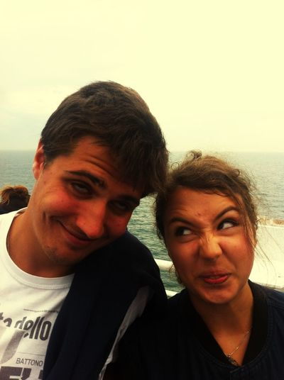 Brotha' ❤️ Brother Boat Ride Portrait Posing Funny Funny Faces Beautiful Day Ferry England