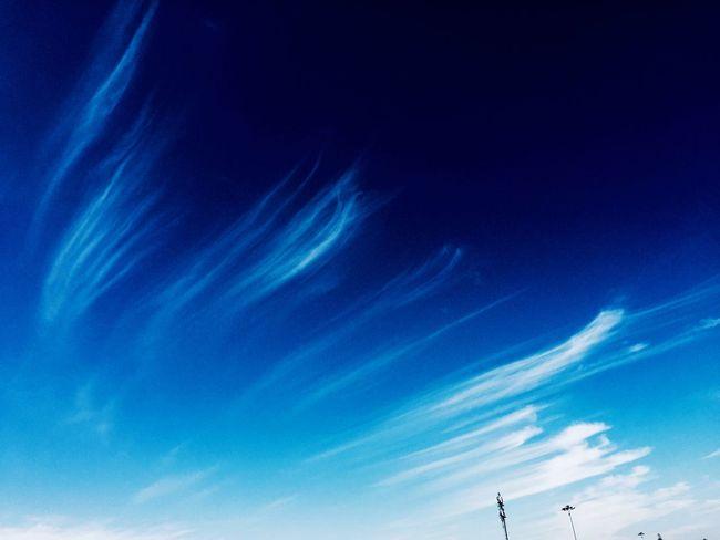 Creative Light And Shadow 蓝天 蓝天 蓝 Blue Sky