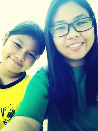 With cindy baby :))