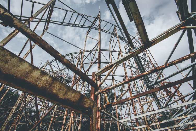 rusty world Abandoned & Derelict Abandoned Places Rollercoaster Rust Abandoned Built Structure Decline Metal Obsolete Roller Coaster Rusty Rusty Metal Urbex Urbexexplorer Urbexphotography
