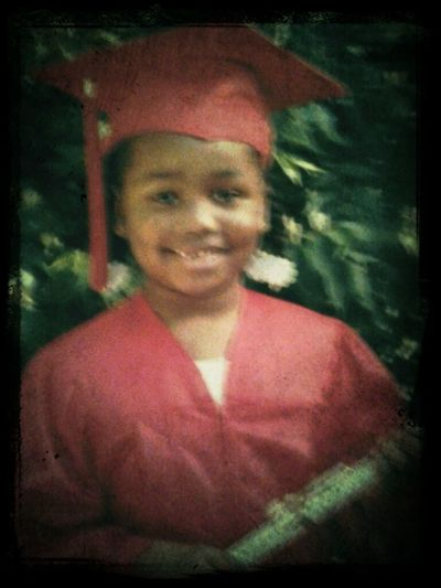 Me at me 1st grade graduation!!!! :)