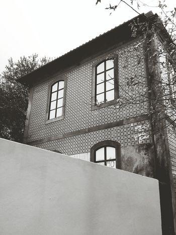 Porto Sky Blackandwhite