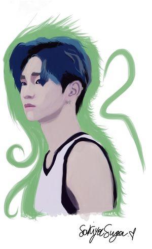 I just finished this. Digital Art Art ArtWork My Artwork I Like It Drawing Kim Kibum Key Shinee Shinee Key
