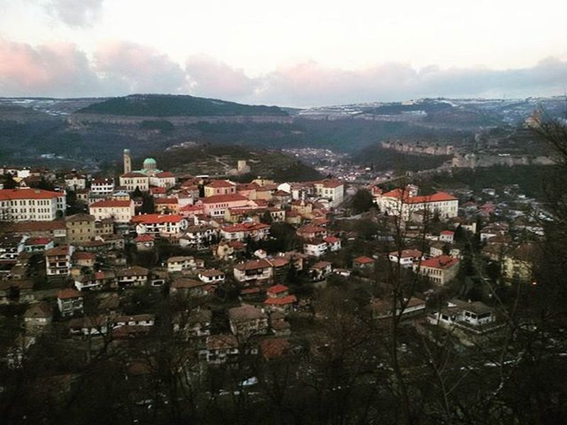 VelikoTarnovo Bulgaria Beautiful Town Tsarevets