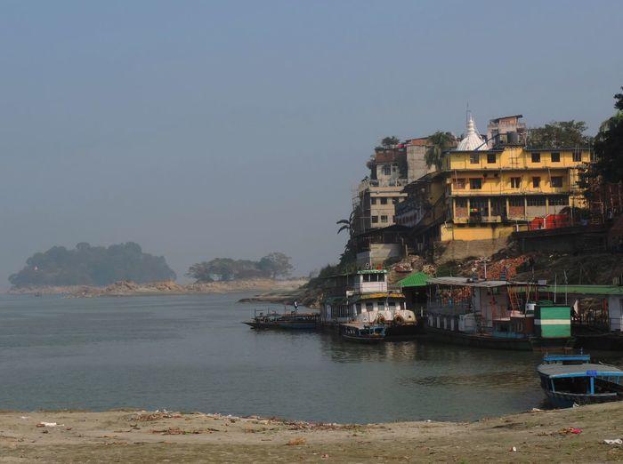 Brahmaputra Brahmaputra_ghat Destination No People Outdoors River Sky Water Waterfront