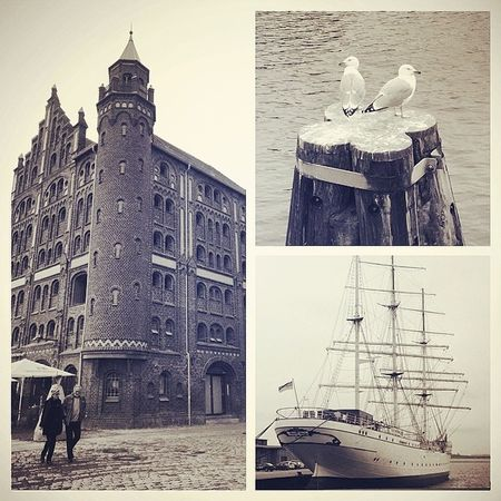 Really loved to sitting at the harbor and let the thoughts run away... Stralsund  Harbor VSCO