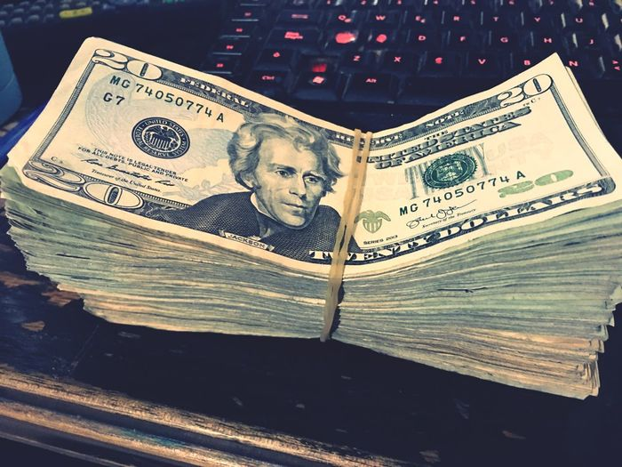 Money Finance Wealth Currency Paper Currency Business No People Indoors  Dolar$ Dolar Keyboard Computer Mexico