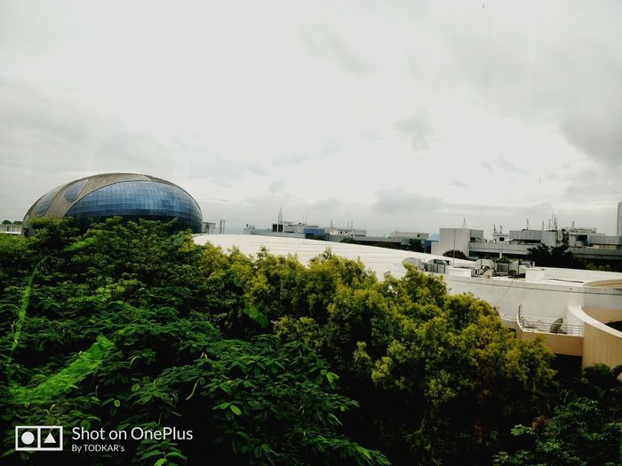 Business Finance And Industry City Cloud - Sky Sky Dome Architecture Day Built Structure Outdoors Cityscape Building Exterior No People Tree Politics And Government Infosyspune Rainy Days Rainy Weather