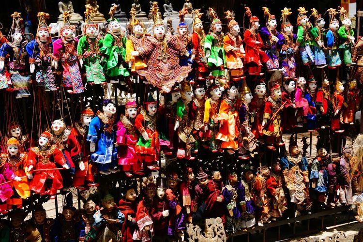Mandalay Art Colorful Creative