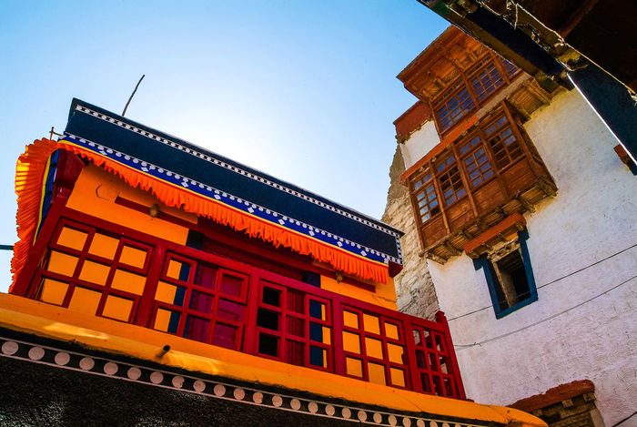 Thikse gompa or thikse monastery Building Exterior Historical Building India Leh Leh Ladakh.. Mountain Thiksey Travel Travel Destinations
