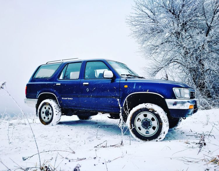 Snowday Funday #toyota #offroad #4runner #Winter #wintertime #snow #frozen #ice #pure #Nature  #trees #roadtrip