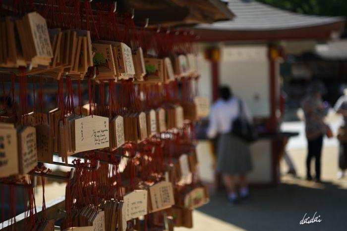 誰かのための願いが多いんだよ D750 Fukuokadeeps Lightroom Edit Day Japanese Traditional Shrine 太宰府天満宮 Large Group Of Objects 絵馬 Prayer 祈り