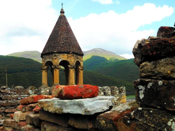 Ananuri Architecture Beauty In Nature Building Exterior Built Structure Church Cloud - Sky Day Georgia Mountain Mountain Range Nature No People Outdoors Place Of Worship Religion Religious  Scenics Sky Spirituality