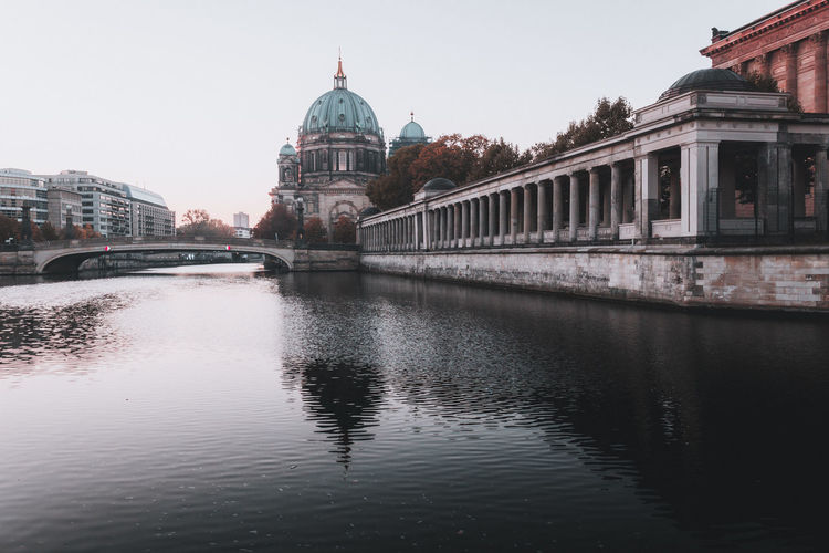 Berliner Dom Architecture Bridge Bridge - Man Made Structure Building Building Exterior Built Structure City Connection Dome Government Nature No People Outdoors Reflection River Sky Tourism Travel Travel Destinations Water Waterfront