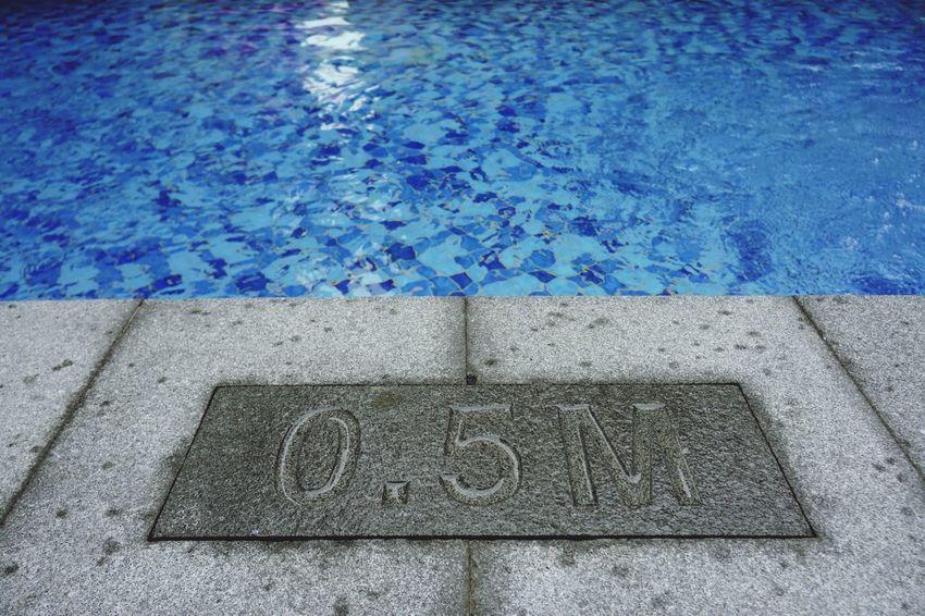 Swimming Pool 50cm 0.5m Depth Pool Water