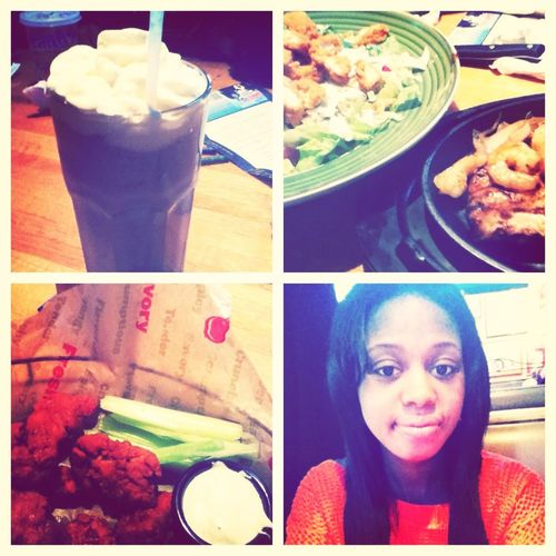 At Applebees W/ My Family