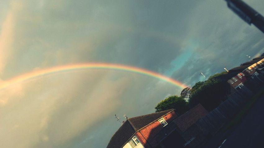 The EyeEm Facebook Cover Challenge Rainbow Taking Photos Landscape