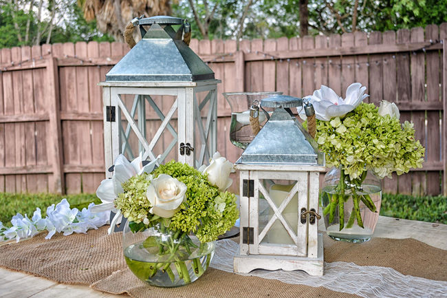 Weeding Ceremony Plant Flower Flowering Plant Wood - Material Nature Built Structure No People Lighting Equipment Day Table Building Exterior Building Growth Lantern Front Or Back Yard Beauty In Nature Focus On Foreground Freshness Outdoors